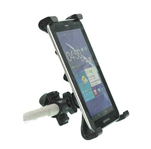Octo Mount Premium Universal Tablet Halterung für Auto, Fahrrad, Kinderwagen, Golf Cart, Warenkorb, Camping, Desktop, Motorrad, Gym, Heimtrainer, elliptisch. TC33