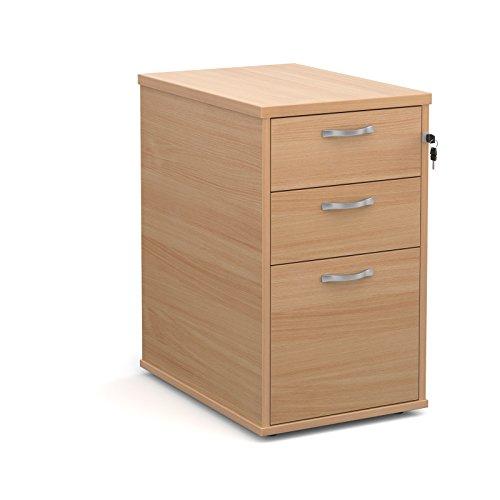 Büro Elefant oe05-r25dh6b 600mm tief Schreibtisch hoch Ständer mit zwei Flache Schubfächer und