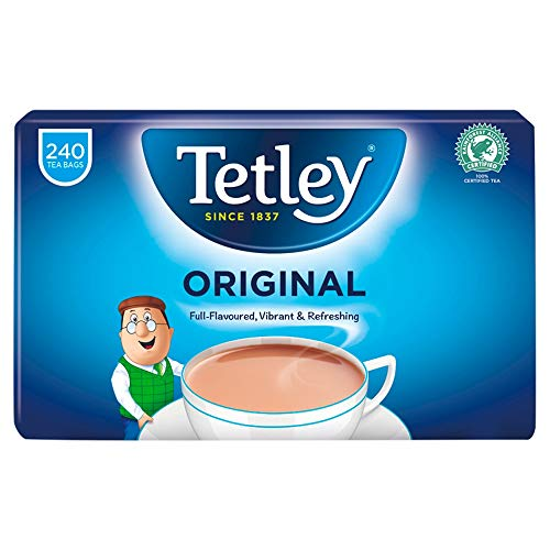 Tetley Original 240 Tea Bags, 750g