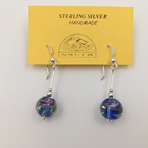 earrings-in-silver-and-handmade-glass
