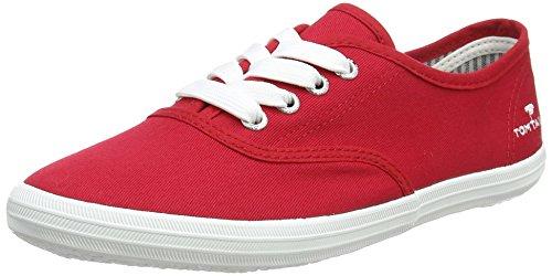 TOM TAILOR Damen 4892401 Bootsschuhe, Rot (Red), 38 EU