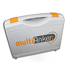 Multianker2.0–Sistema di ancoraggio per veranda da camper, montaggio facile, veloce e sicuro.