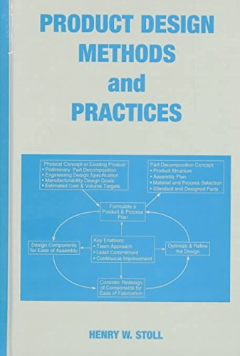 product-design-methods-and-practices-by-henry-w-stoll-published-june-1999