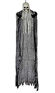 Atosa 57790 Esqueleto Decorativo Unisex - Adulto, Gris, 125 x 67 cm