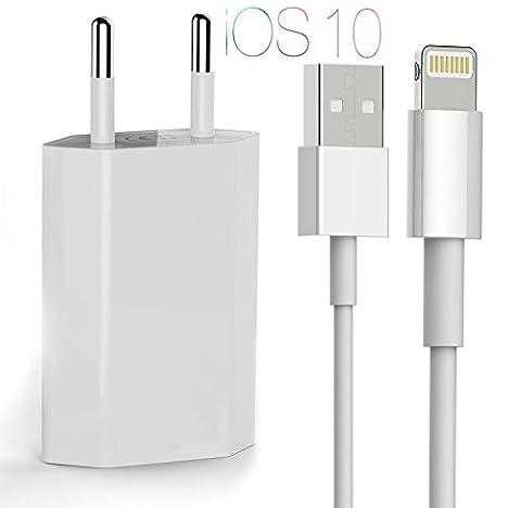 OKCS Lightning Chargeur / câble de données + 1A USB