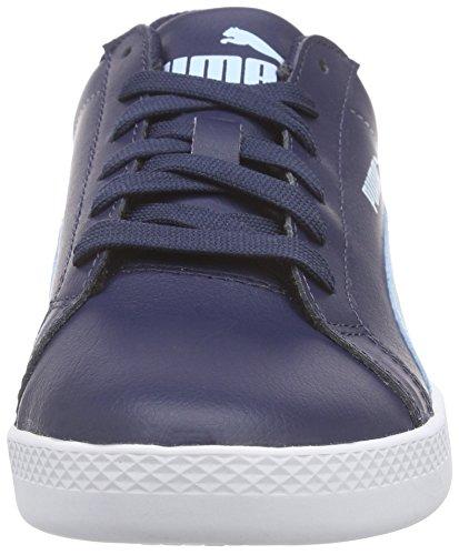 Puma Puma Smash Wns L, Baskets Basses femme Bleu (Peacoat/Cool Blue)