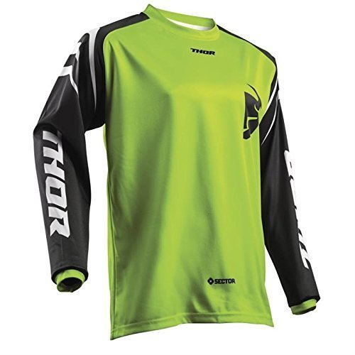 Thor SECTOR YOUTH Motocross Kinder Jersey 2018 - lime -