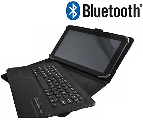 Funda Teclado Bluetooth Extraíble Tablet Bq Edison