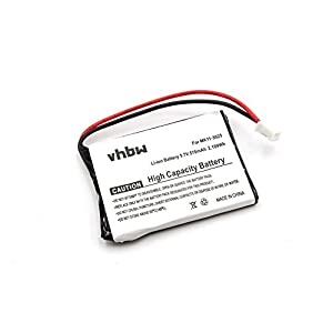 vhbw Akku passend für Sony Playstation 3 PS3 Wireless Keypad Keyboard Tastatur Controller (Qwerty) CECHZK1UC ersetzt…
