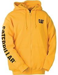 Caterpillar CAT W10840 Full Zip sweat à capuche Rouge