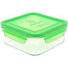 Wean Vert Cubes de Repas Conteneur Alimentaires en Verre
