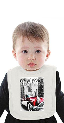 New York Fifth Avenue Organic Bib With Ties Medium