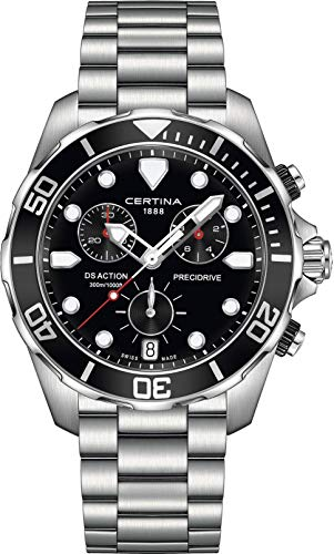 CERTINA DS Action Herren-Armbanduhr 43MM Quarz C032.417.11.051.00