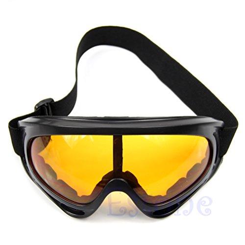 ZUIMEI Sonnenbrille für Motorrad, Ski, Snowboard, staubdicht, Brillenrahmen navy