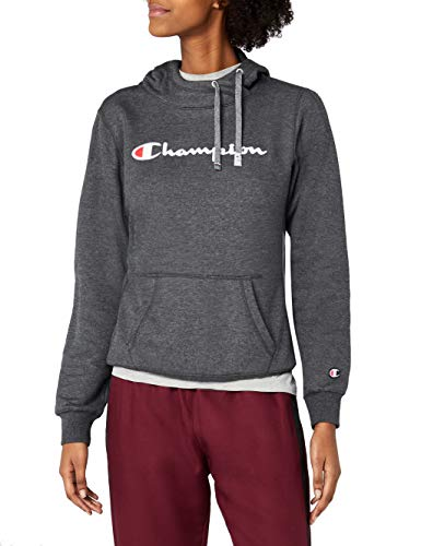 Champion Damen Hooded Sweatshirt - Institutionals Kapuzenpullover, Grau (Ccom), XX-Large -