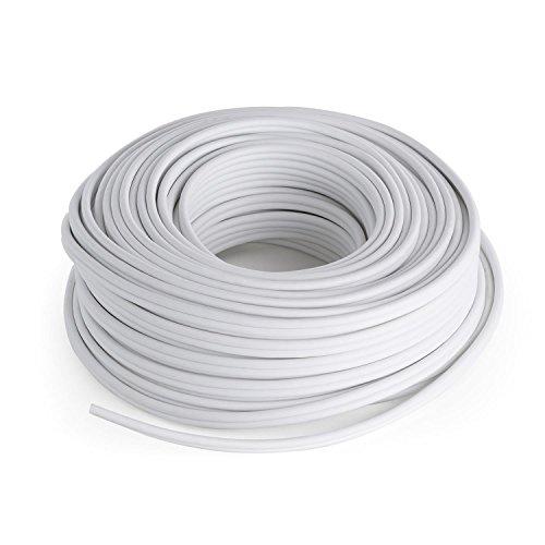 NUMAN Lautsprecherkabel - CCA Aluminium-Kupfer 2 x 2,5mm 30m weiß