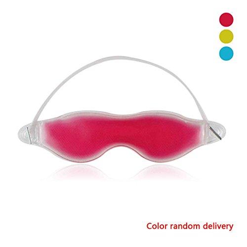 Sunlera Gel Augenmaske kalt Packung warme Wärme Eis schlafen müde Maske -