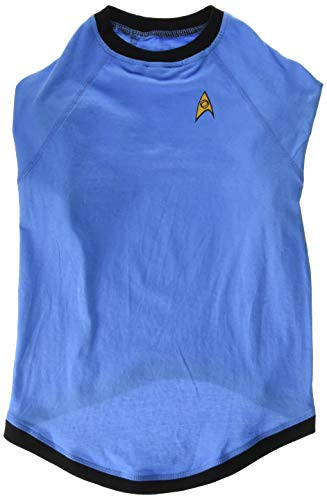 (Die Coop Star Trek Blaue Uniform Hund Shirt, X-Large)