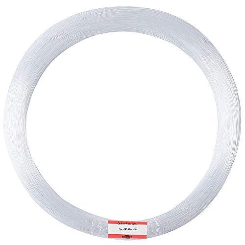 Chinly 100 pz Φ0.75mm 2 m lungo PMMA plastica end glow cavo in fibra ottica per stella cielo soffitto tutti i tipi di luce led motor driver