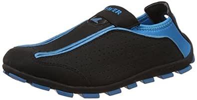 Power Women's Slip 12 Black and Blue Running Shoes - 3 UK/India (36 EU)(5396224)