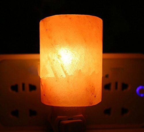 Lampe à sel en cristal Petite lampe à mur Lampe à ions négatifs Petit cadeau de Noël (Shape : A)