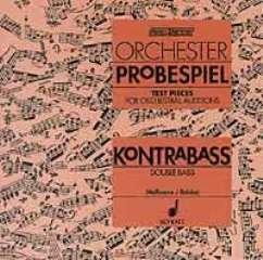 ORCHESTER PROBESPIEL KONTRABASS - arrangiert für Kontrabass [Noten / Sheetmusic] Komponist: MASSMANN FRITZ + REINKE GERD
