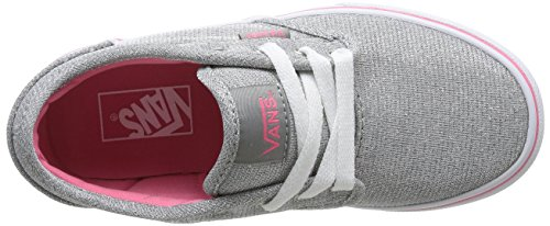 Vans Z Atwood, Baskets mode fille Argent (Glitter Grey)
