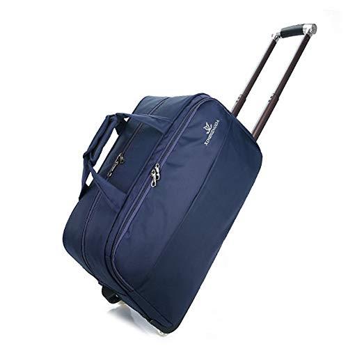 TY&GH Sac De Voyage Ultraléger - Valise À 2 Roues pour Valise Cabine - Unisexe - Rose Rouge,Blue,XL