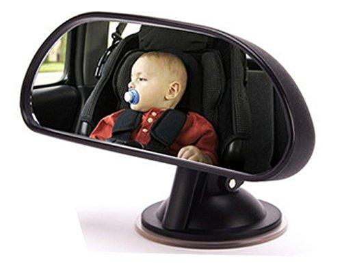 Preisvergleich Produktbild Baby Rückspiegel, Universal Auto-Rücksitz View Spiegel Baby Kind Sicherheit Weitwinkel 360° Drehbar verstellbar Auto Monitor Kind Sicherheit in der Rücksitz mit Sucker