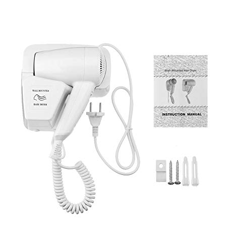 220V 1200W Negativ-Ionen-Wand-Haartrockner-Gebläse-Hotel-Haus mit Halter EU-Stecker-Haartrockner-Gebläse-Haar-trocknendes Werkzeug (Haar-appliance-halter)