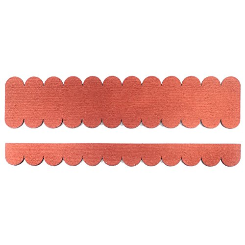 'Mini tuiles rond (41 mm) – 3 packs – rouge \