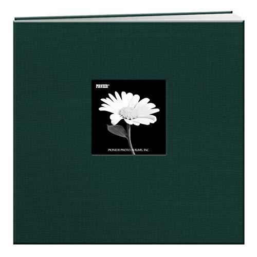 Pioneer 30,5 x 30,5 cm Buch, Stoffeinband, Album mit Fenster, rot, Majestic Teal, 30,5 x 30,5 cm -