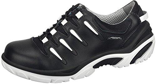 Abeba 4883-48 Crawler Chaussures de sécurité bas Taille 48 Noir/Blanc