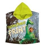 Kids Goods Best Deals - Kids Euroswan - Disney WD16954 The Good Dinosaur Poncho 120 x 60 cm