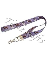 Saint Bernard Breed of Dog Matching Lanyard Perfect Gift