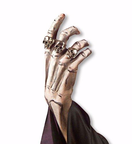 Skull anello d'argento usato  Spedito ovunque in Italia