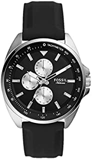 FOSSIL MENS AUTOCROSS SILICONE WATCH - BQ2553