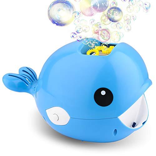 Balnore Seifenblasenmaschine Automatisch Bubble Maker 2000+ Bubble Blower für Kinder Spielzeug Party Baby Baden Hochzeit für Indoor Outdoor