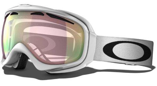 Oakley Elevate Skibrille/snowboardbrille, Polished White, One size