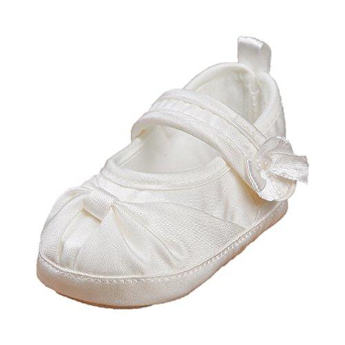 Celebration Festliche Babyschuhe Taufschuhe Satin Ballerina Creme Ivory 6116-284 (18=11 cm)
