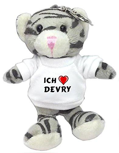 plusch-graue-katze-schlusselhalter-mit-t-shirt-mit-aufschrift-ich-liebe-devry-vorname-zuname-spitzna