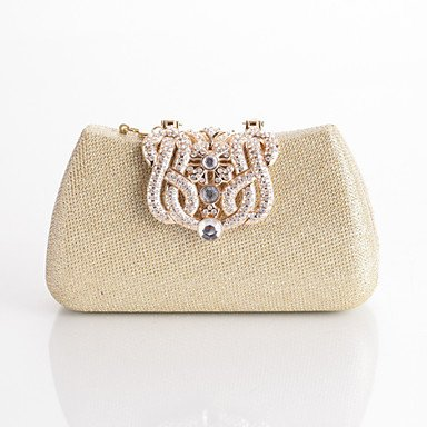 Frauen mit Diamanten Luxus Party Abend Tasche Ruby