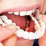 Diseño práctico Hombres Mujeres Diente Instantáneo Sonrisa Perfecta Confort Ajuste Flex Dientes Se adapta a Blanquear Sonrisa Falsos dientes Cubrir