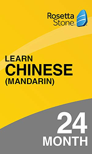 Rosetta Stone: Learn Chinese for 24 months on iOS, Android, PC, and Mac|Personal|1 User, multiple devices|24 Months|PC/Mac/Smartphone|Download|Download