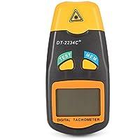Ballylelly DT2234C + LCD de mano digital Mini tacómetro de fotos láser sin contacto RPM Velocímetro Medidor de velocímetro 2.5~99999RPM
