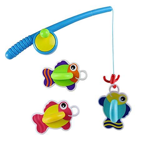 Bath Toy Bathtub Fun Time Games Set Fishing Floating