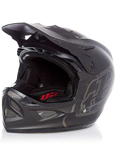 Troy Lee Designs D3 Fiberlite Helmet Mono/Black Kopfumfang L   57-59cm 2019 Fahrradhelm