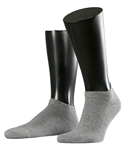 Bio-baumwolle Knöchel Socken (ESPRIT Herren Sneaker Socken 17855 Basic Short SO, Doppelpack, Gr. 43-46, Grau (light grey 3390))