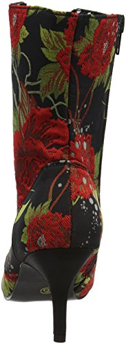 Joe Browns Individuals Lace Up Boots, Stivali Donna Black (Black/Red)