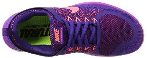 Nike Damen Free Run Distance 2 Hallenschuhe Mehrfarbig (iper Uva / Lava Glow-court Viola)
